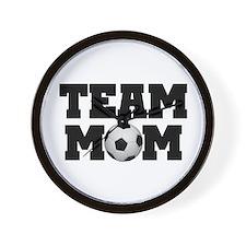 Soccer Team Mom Wall Clock