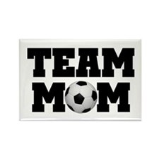 Soccer Team Mom Rectangle Magnet