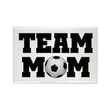 Soccer Team Mom Rectangle Magnet (10 pack)