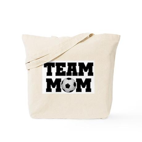 Soccer Team Mom Tote Bag