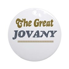 Jovany Ornament (Round)