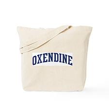 OXENDINE design (blue) Tote Bag