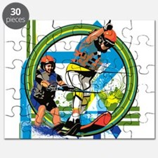 Water skiers Puzzle