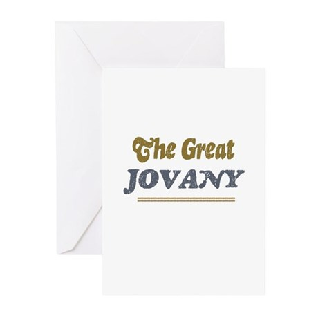 Jovany Greeting Cards (Pk of 10)