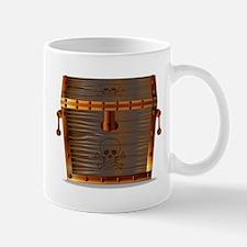 Pirates Treasure Chest Mugs