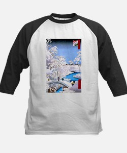 Hiroshige Drum Bridge Baseball Jersey