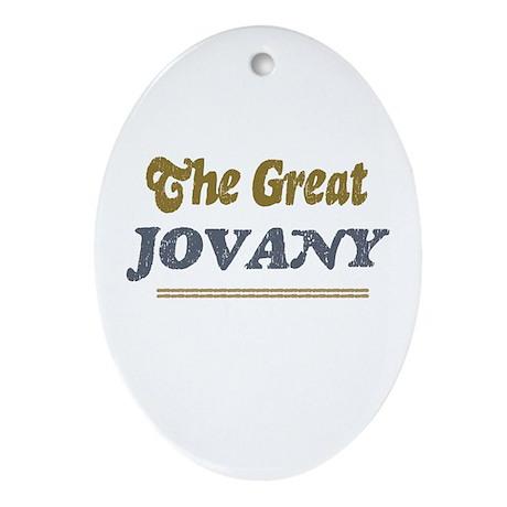Jovany Oval Ornament
