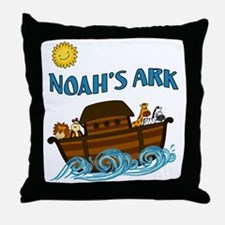 Unique Ark Throw Pillow