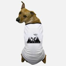 Dark's Descent Series Logo Peeking Dog T-Shirt