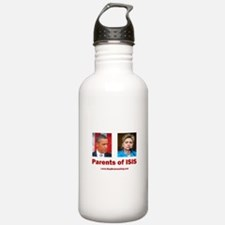 Obama/Hillary - Parent Water Bottle