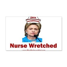 Hillary Nurse Wretched Wall Decal