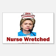 Hillary Nurse Wretched Decal