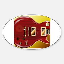 Unique Les paul guitar Decal
