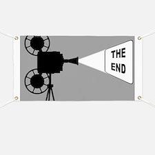 Framed movie Banner