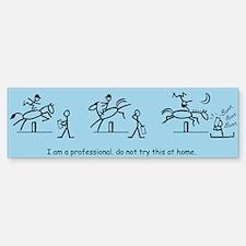 I am a Professional: Judge 2 / Bumper Bumper Bumper Sticker