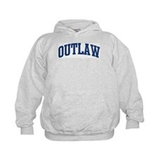 OUTLAW design (blue) Hoodie