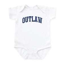 OUTLAW design (blue) Infant Bodysuit