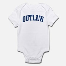 OUTLAW design (blue) Infant Bodysuit