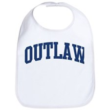 OUTLAW design (blue) Bib