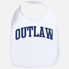 OUTLAW design (blue) Bib