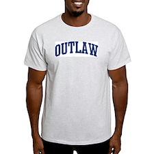 OUTLAW design (blue) T-Shirt