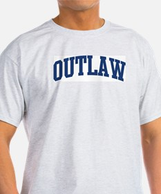 OUTLAW design (blue) T-Shirt