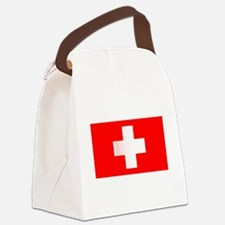 Cute Red cross Canvas Lunch Bag