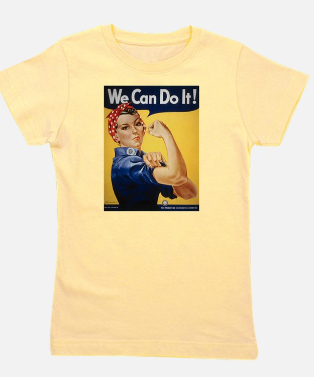 Cute Girls can do anything Girl's Tee