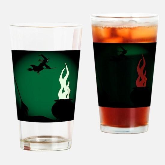 Cool Cauldron Drinking Glass