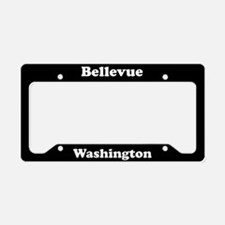 Bellevue WA License Plate Holder