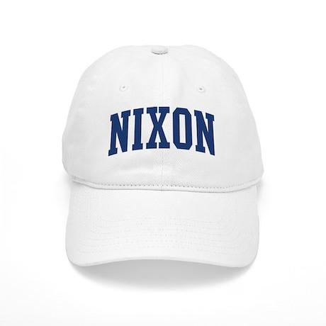 NIXON design (blue) Cap