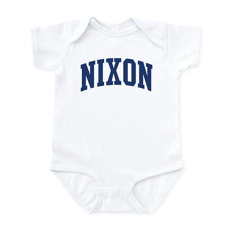 NIXON design (blue) Infant Bodysuit