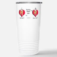 Unique Husky Travel Mug