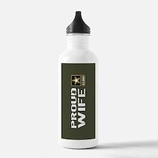 U.S. Army: Proud Wife Water Bottle