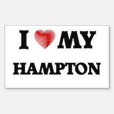 I love my Hampton Decal