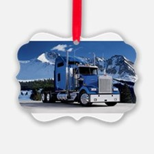 Mountain Blue Kenworth Ornament