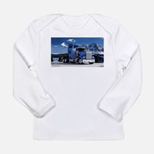 Mountain Blue Kenworth Long Sleeve T-Shirt