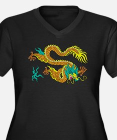 Dragon decoration pattern Plus Size T-Shirt