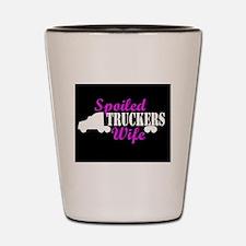 Unique Trucker Shot Glass
