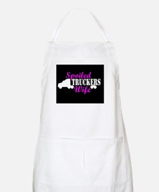 Spoiled Truckers Wife Apron