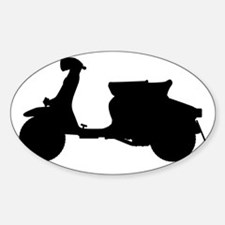 Scooter Silhouette Decal