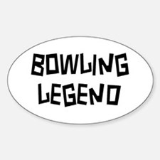 bowling legend Decal