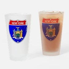Cute New mexico state flag Drinking Glass
