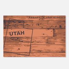 Cool Utah state Postcards (Package of 8)
