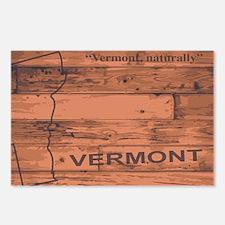 Unique Vermont ravens football logo Postcards (Package of 8)