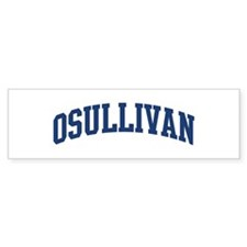 OSULLIVAN design (blue) Bumper Bumper Sticker