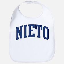 NIETO design (blue) Bib