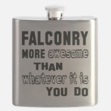 Falconry more awesome than whatever it is yo Flask
