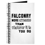 Falconry Journals & Spiral Notebooks