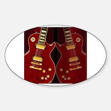 Cute Les paul guitar Decal
